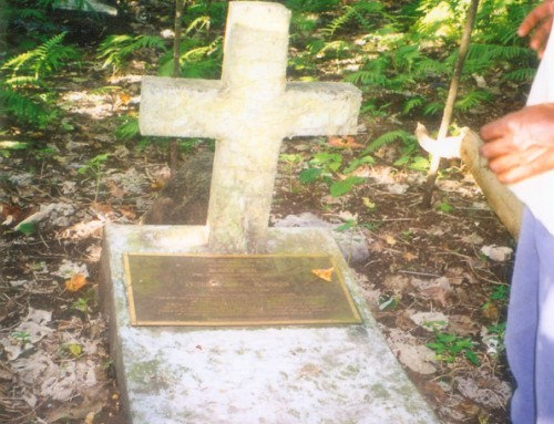 Finding Paton`s Grave