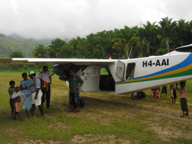 Bible Distribution in Solomon Islands
